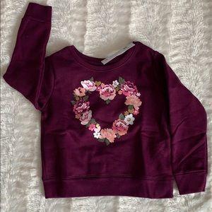 👸3for$15 Garanimals sweatshirt